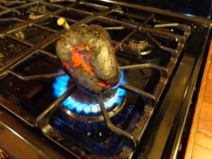 gas flame method