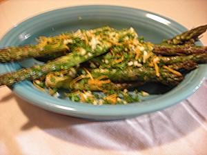 Asparagus with Orange Gremolata