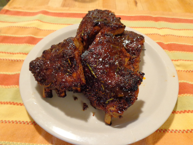Mustard Glazed Ribs